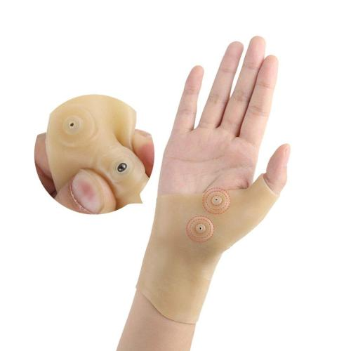 Waterproof Brace Soft Pain Relief Magnetic Thumb Support Elastic Corrector Therapy Hand Wrist Massage Glove Hand Care