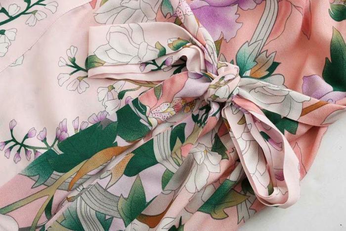 Boho Robe, Kimono Robe, Lily Rose in Pink