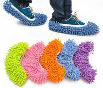For House Bathroom Floor Cleaning Cheap Shoes Covers Floor Cleaner Multifunction Dusting Floor Cleaning Shoe Covers 1PCS