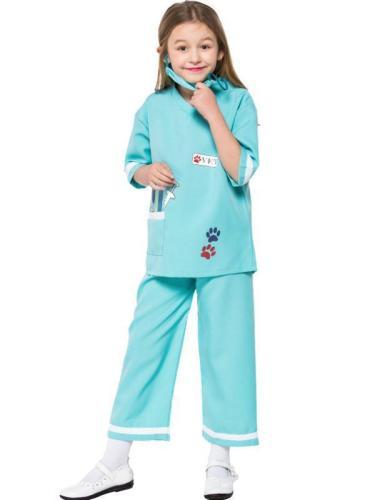 Veterinary Costume Children's Doctor Game Suit