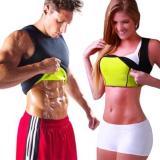 Hot Sweat Body Shaper Slimming Belt Belly Men Slim Vest Fat Burning Shaperwear Women Waist Trainer Neopreno Corset Tummy Control