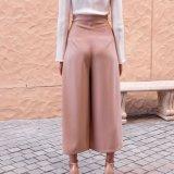 Fashion Plain Wide-Legs Jumpsuit Pants