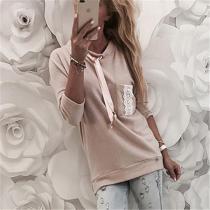Fashionable Pink Hoodie