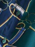 Fashion Chain Printed Colour Loose Shirt