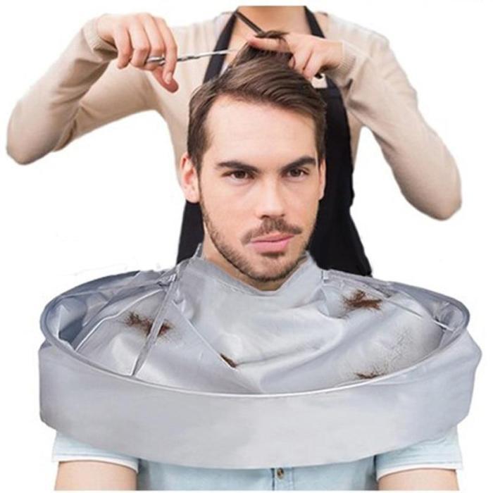 1PC Foldable Hair Cape Cutting Cloak Umbrella Cape Salon Waterproof Barber for Salon Barber Special Hair Styling Accessor ##5