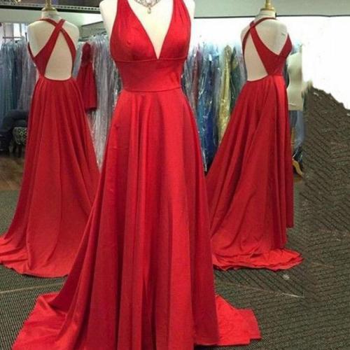 Sexy Sling Split Evening Dress