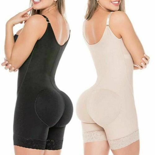 Plus Size Full Body Shaper womens Waist trainer Tummy Slimming  Corset Briefs butt lifter modeling underwear
