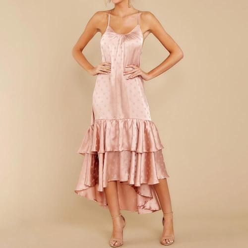 Fashion suspender layered pajamas dress