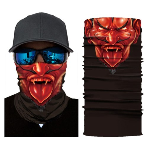 Outdoor Windproof Cycling Bandanas 3D Magic Tube Scarf Neck Warmer Multi Function Headband Men Women Fishing Face Head Scarf
