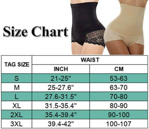 Plus Size Women's Body Shaper Underwear Booty Lifter Ladies Slimming Tummy Control Shapewear Waist Trainer Butt Lifer Briefs