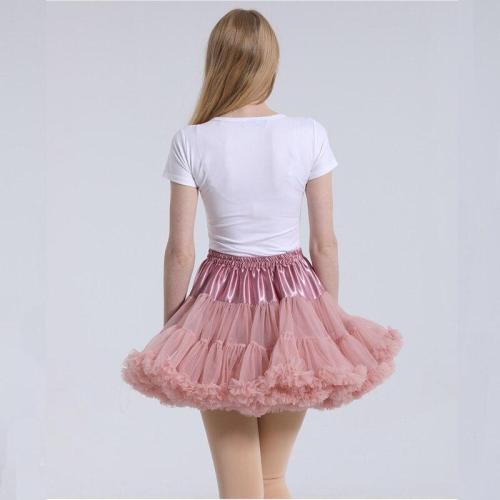 2020 Hot Sale Ruffles Women Petticoat Underskirt Keen Length Short Tutu Petticoat Tulle Rockabilly Crinoline 300 g In Stocks