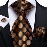EBUYTIDE 20 Style Plaids Mens Ties For Men Necktie Hanky Cufflinks Fashion Silk 8cm Pink Blue Red Yellow Tie Gravatas Cravatte