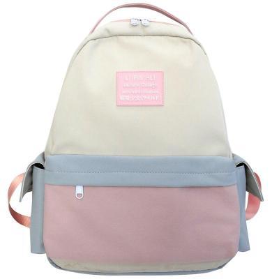 Female Waterproof Nylon Backpack Cute Women College Student School Bag Kawaii Ladies Harajuku Backpack Girl New Fashion Book Bag