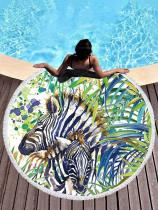 Hot Style Zebra Printed Beach Mats