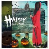 Kids Boys Devil Vampire Costume Red Halloween Horror Girm Reaper Cosplay Costume
