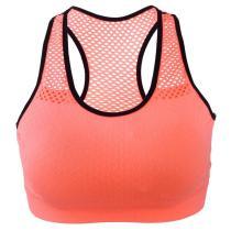EBUYTIDE Sports Bra Women Wire Free Mesh Gym Bra Quick Dry Shockproof Yoga Running Vest Workout Sports Fitness Tops Gym Women Sportswewar