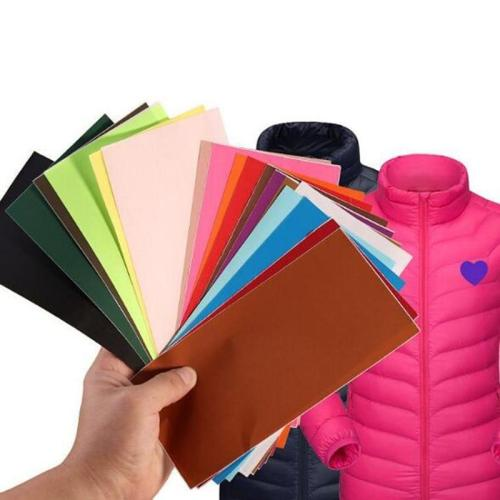 1PCS 19.8*9.8cm Applique Patches for Clothing Repair tape patch Outdoor Down jacket tent repair accessories stickers for clothes