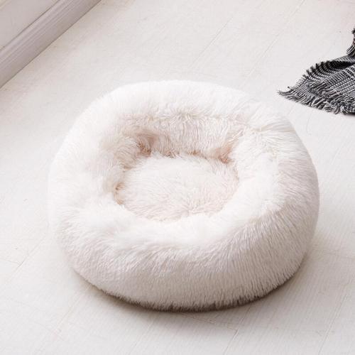 Faux Fur Dog Bed