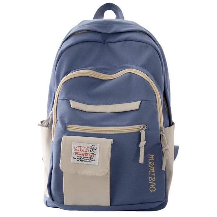 Harajuku Backpack for Girls Female Kawaii Book Fashion Cute Ladies Bag Waterproof Nylon Backpack Student Women School Bag Laptop
