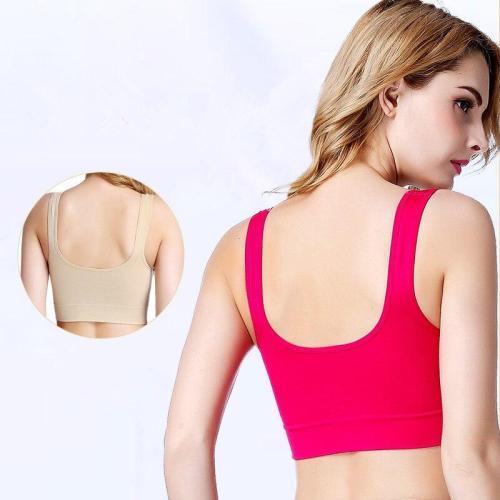 EBUYTIDE Women Sport Bra Top Sportswear Women Padded Yoga Bra Push Up Brassiere Gym Sport Bras Top Women Fitness Bra Female Workout Top