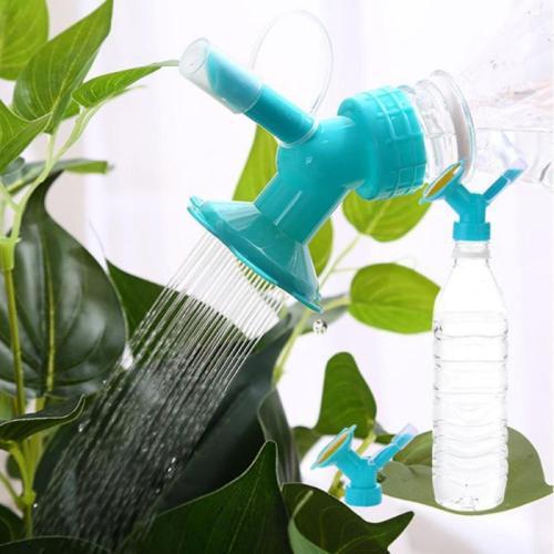 2 In1 Watering Sprinkler Nozzle For Flower Waterers Bottle Watering Cans Sprinkler Plant Irrigation Easy Tool Portable Waterer