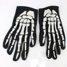 1 Pair Halloween Cosplay Gloves Horror Skull Claw Bone Skeleton Goth Racing Full Gloves Dropship