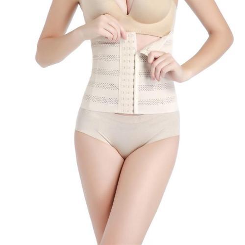 High Waist Women Body Shaper Latex Waist Trainer Cincher Tummy Girdle Corset Shapewear Slimming Underbust Control Belt