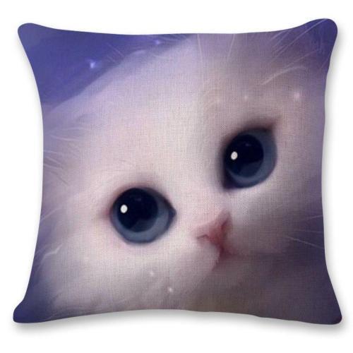 Linen Pillowcase Animal