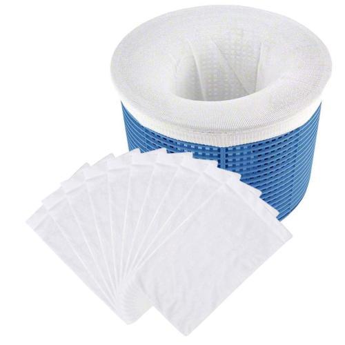 10PCS Round Pool Skimmer Socks Household Perfect Savers For Filters Baskets Skimmers Net Filter Sock Bag Filter Bag