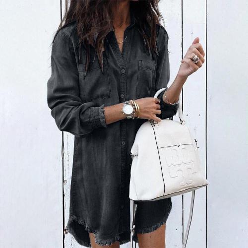 Fashion Long Sleeve Midi Dress