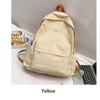 2020 Fashion Women Plaid Backpack Female Schoolbag Bag for Teenager Girls Top Handle Casual Travel Backpack Book Bags Mochila