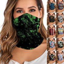 Bandana Women Men Digital Printed Multi Functional Seamless Sacrf Quick Dry Sunshade Sweatband Hairband Cycling Neck Scarf