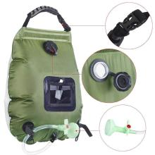 20L Water Bags For Outdoor Camping Hiking Solar Shower Bag Heating Camping Shower Bag Hose Switchable Shower Head