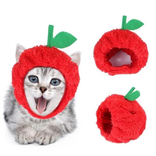 1PC Pet Hat Headdress Cute Fruit Pineapple Dog Cat Caps Cosplay Party Accessories Small Medium Large Dogs Hat Pets Supplies