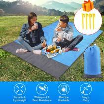 Portable Camping Mat Picnic Ground Mat Mattress Tablecloth Outdoor Waterproof Beach Blanket Outdoor Camping Picnic Mat Blanket