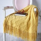 Nordic Knitted Throw Thread Blanket Bedding Sofa Plaid Travel TV Nap Blankets Soft Towel Bed Plaid Tapestry 130*175cm
