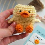 AirPods Case - Knitted Collection - Duck