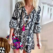 Roost Floral Boho Casual Dress