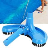 Swimming Pool Suction Vacuum Head Brush Cleaner Half Swimming Flexible Moon Curved Pool Swimming Cleaning Tool Head Pool Su V3Z9