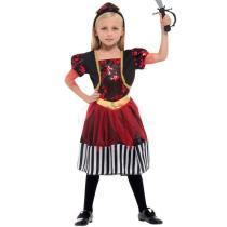 Halloween Cosplay Party Children Girls Pirate Costume Set Halloween Dress Up Party Costume