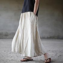 Flowy & Free Linen Palazzo Pants