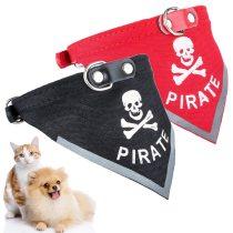 Fashion Cat Dog Bandana Bibs Scarf Collar Adjustable Pet Neckerchief Scarf Waterproof Saliva Towel for Small Medium Large Dogs