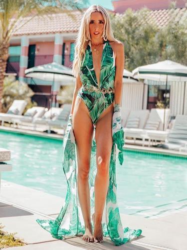 Chiffon Vacation Bikini Cover-Ups
