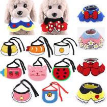 2019 New Cat Dog Bandana Bibs Scarf Collar Adjustable Pet Cute Neckerchief Scarf Waterproof Saliva Towel For Cats Dog Puppy