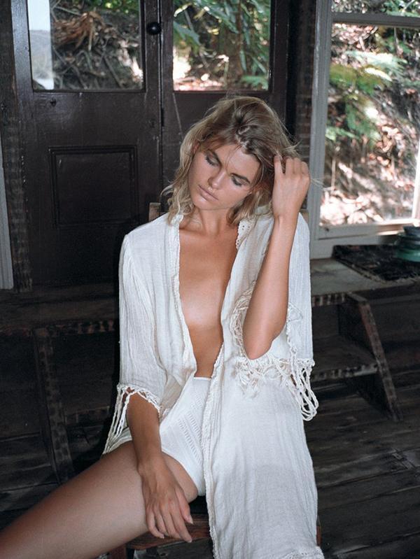 Fashion Lace Tasseled Half Sleeves Cover-Ups Swimwear