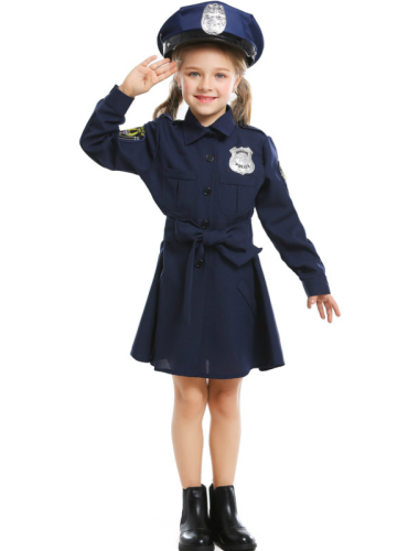Halloween Costumes Cosplay Cute Police Uniforms