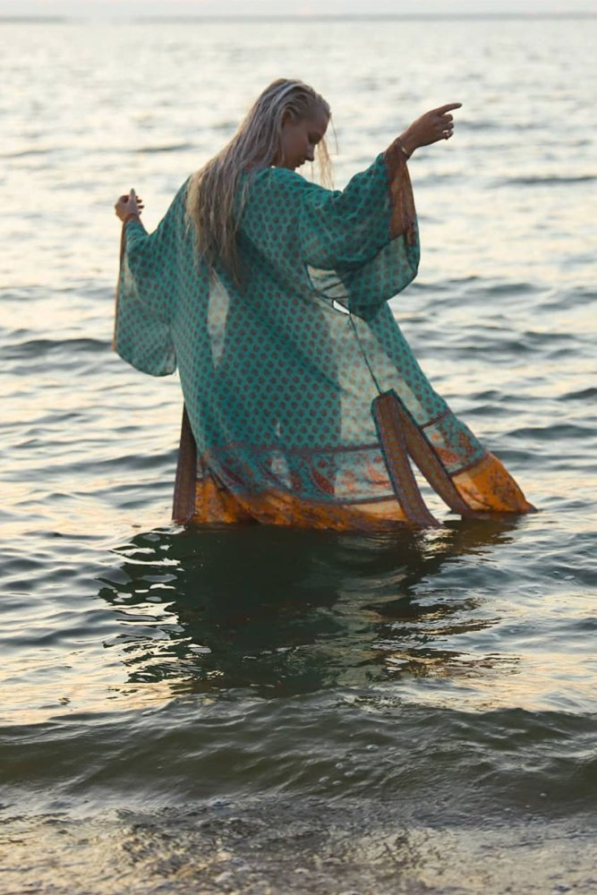 Boho Robe, Kimono Robe, Sara in Sea