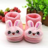 2020 Baby Girl Boys Shoes Newborn Baby Moccasins Shoes Non-slip Crib First Walker Cashmere Rabbit Winter Boots Baby Shoes 95