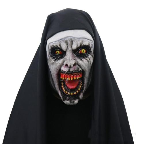 Adult Ghost Halloween Scary Face Mask