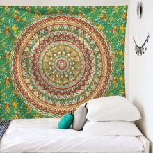 Ins Wind Tapestry Bohemian Printed Wall Blanket Household Bedside Decoration Background Cloth Dormitory Wall Hanging Cloth